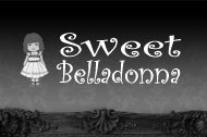 Website voor Sweet Belladonna